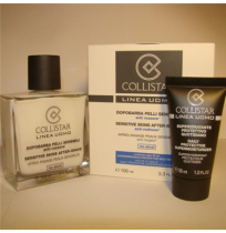 COLLISTAR  set CS SENSITIVE SKINS AFTER-SHAVE (100 мл б-м п/бритья+30 мл увл.крем)